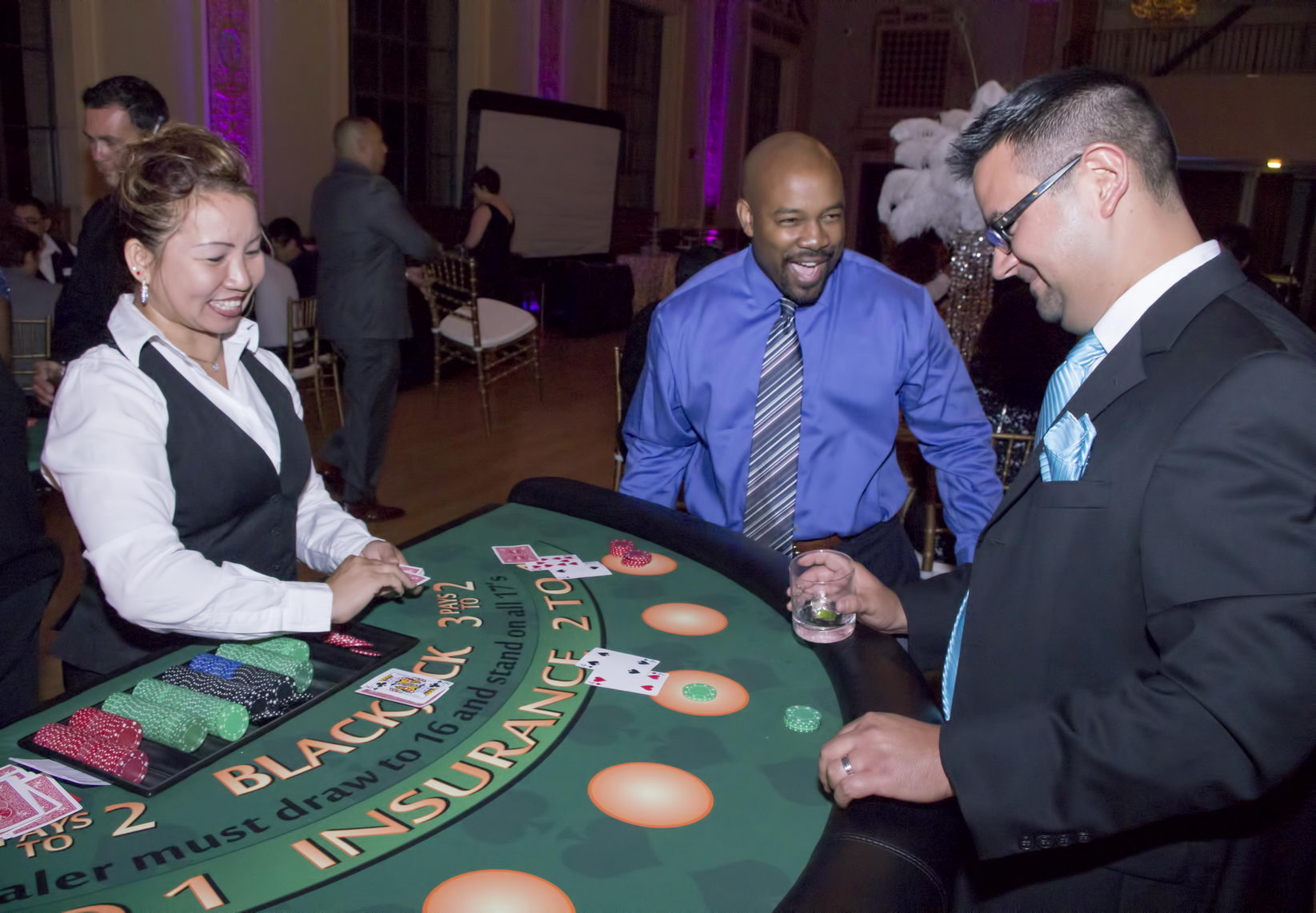 S.F. Casino Night