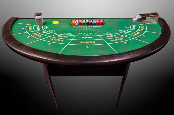 bay area casino table rentals